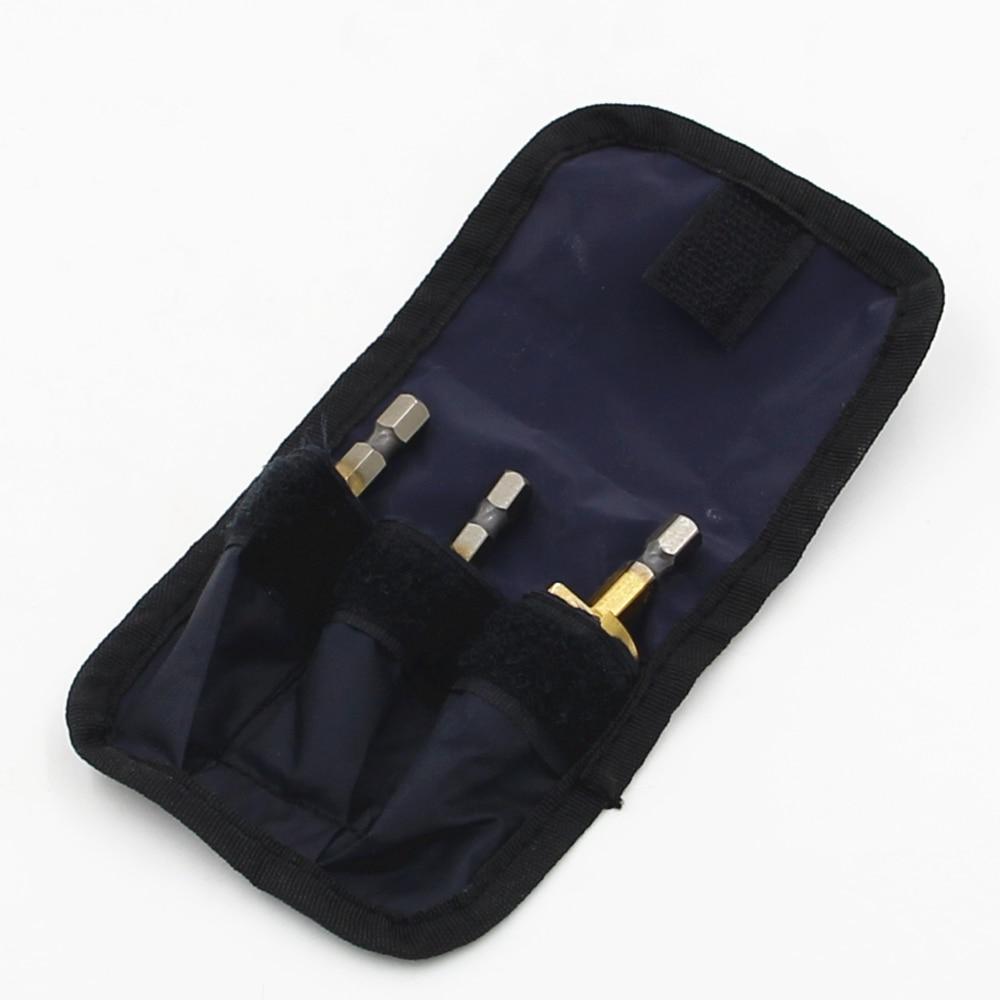 Nailono maišų pakavimoHSS žingsniniai grąžtai 3-12mm 4-12mm - Grąžtas - Nuotrauka 2