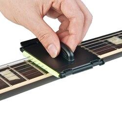 1 piezas de guitarra eléctrica cuerdas depurador diapasón masaje herramienta de limpieza de mantenimiento cuidado bajo limpiador accesorios de guitarra