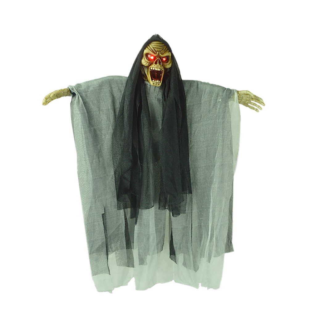 Novelty Scary Creative Ghost Witch with Sound and Flashing