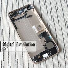 Мелкие детали сборе корпуса full вернуться батареи крышка iphone белый цвет