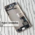 Para iphone 5 volver batería asamblea cubierta de la cubierta con piezas pequeñas completas envío libre del color blanco y negro