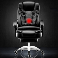 Computer home office reclining massage boss lift turn foot rest seat chair swive special offer Free shipping