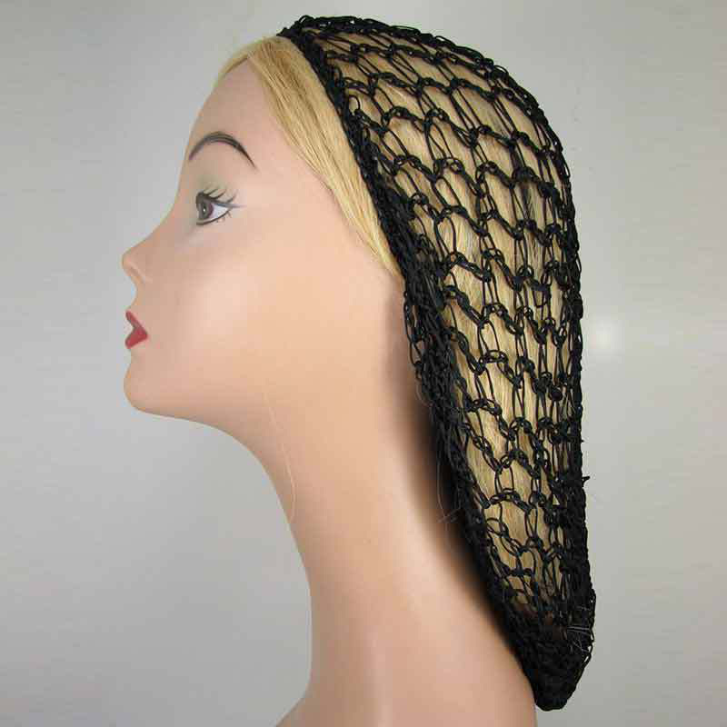 Hollow Crochet   Headwear   Womens Turban Headbands Soft Rayon Snood Hair Net Crocheted Hair Accessories 1 pc Fashion   Headwear