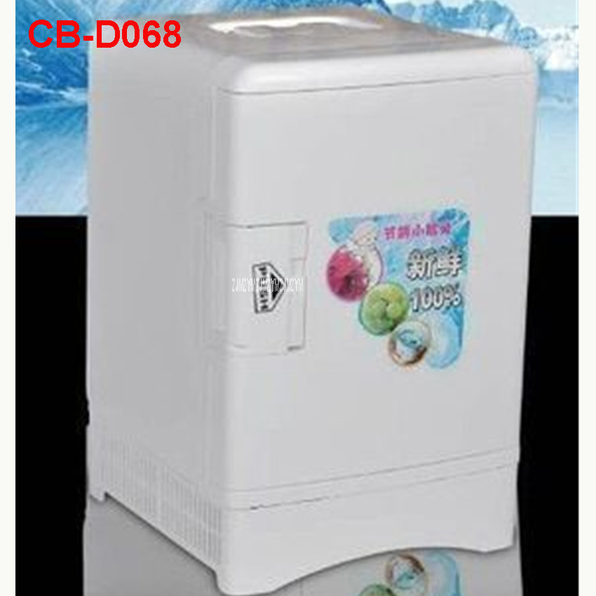 CB-D068 Portable Freezer 13.5 L Mini Fridge Refrigerator Car Home A Dual Use Compact Car Fridge 12/220 V Temperature Variations