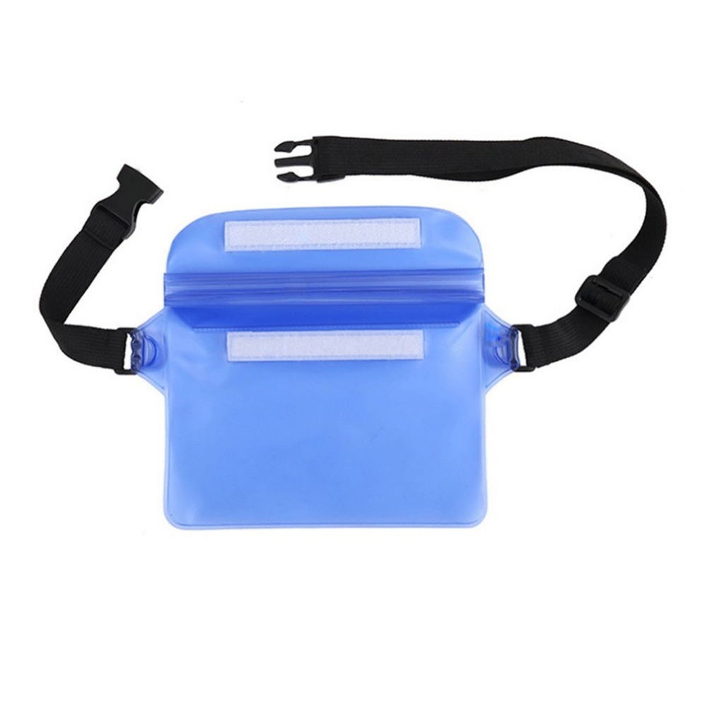 Waterproof Sports Bag Waist Bag Swimming Drifting Diving Waist Fanny Pack Pouch Underwater Dry Shoulder Backpack Phone Pocket