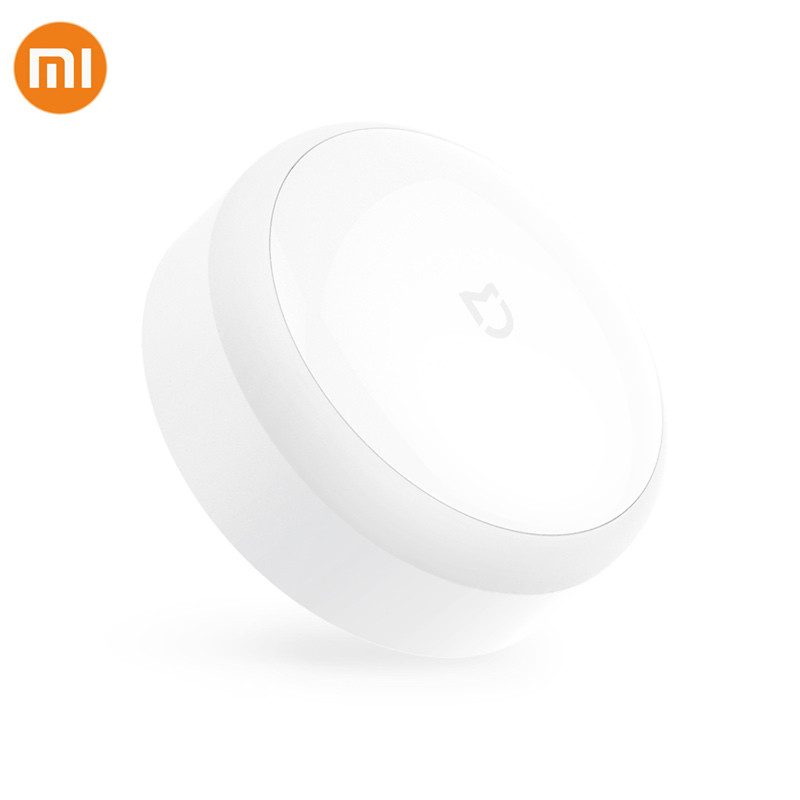 Original Xiaomi Mijia Sensor Night Light Lamp Adjustable Brightness Infrared Photosensit Control Auto-Sensor For Mi Smart Home