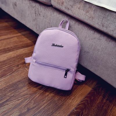 Purple mochila