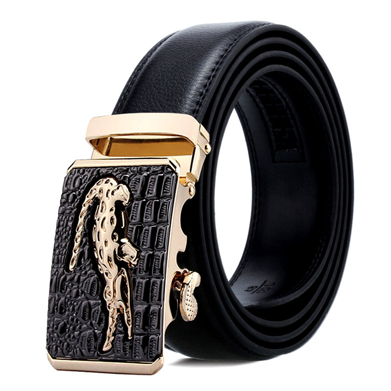 150cm Men Belt With Stainless Steel Automatic Buckle For Mens Cow Real Genuine Leather Luxury Quality Brand Designer Belts140cm