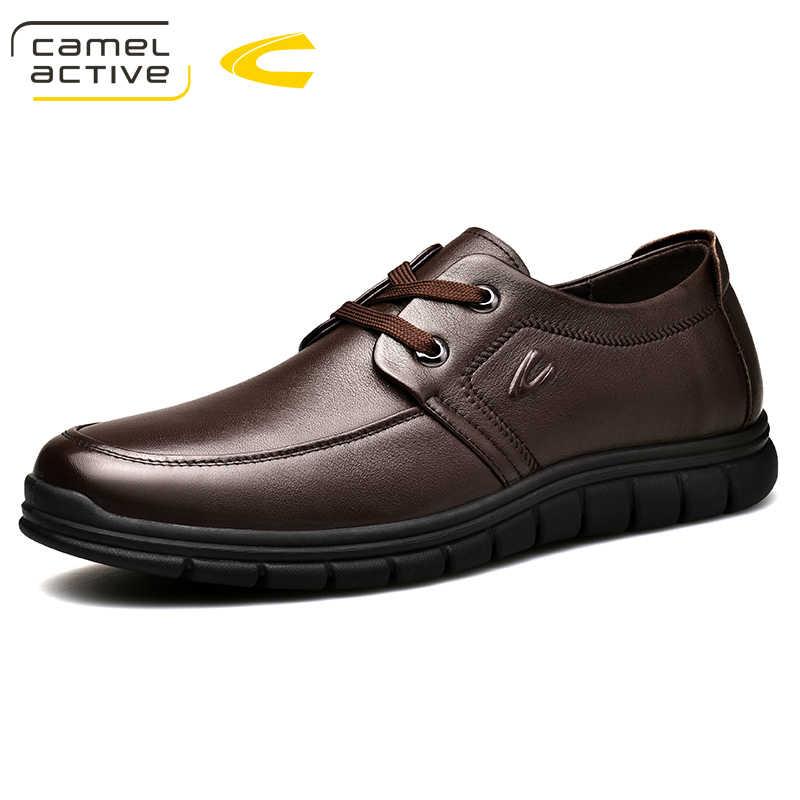 Camel Active New Men Genuine Leather