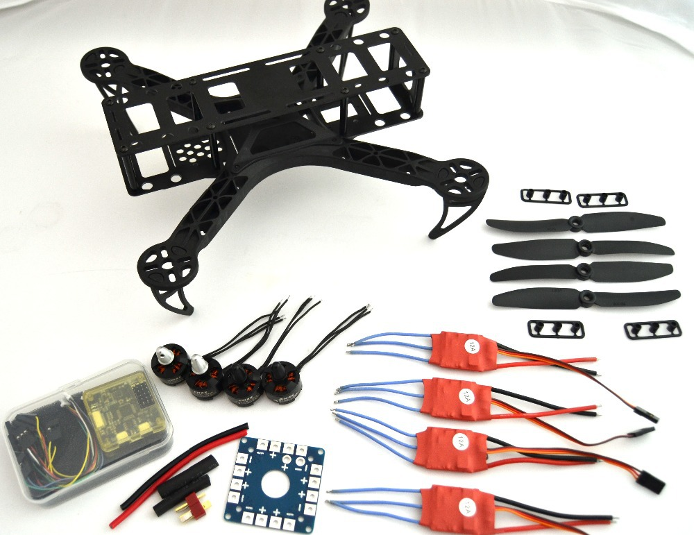 drone with camera dron fpv drones quadcopter 250 Mini Quadcopter + CC3D Flight Controller + MT1806 2280KV +12A Simonk ESC diy fpv mini drone qav210 quadcopter frame kit pure carbon frame cobra 2204 2300kv motor cobra 12a esc cc3d naze32 10dof