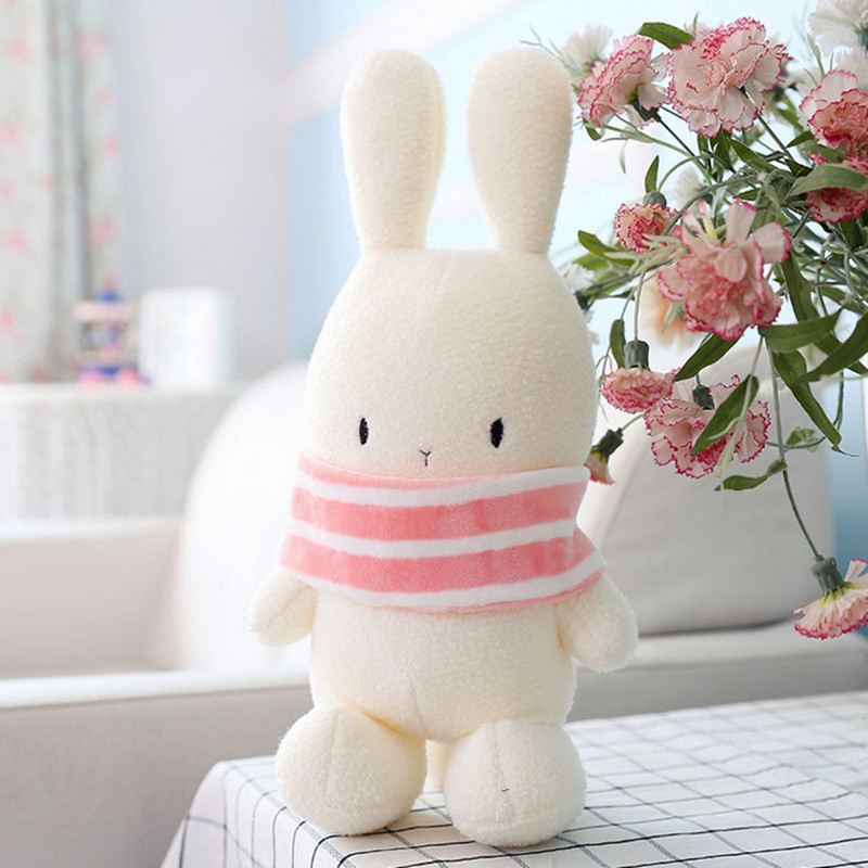 Aliexpress.com   Buy Rabbit doll kawaii plush toys for children stuffed  fluffy bunny ty beanie boos soft for bouquets dolls valentine s day gifts  from ... 688169ec0268