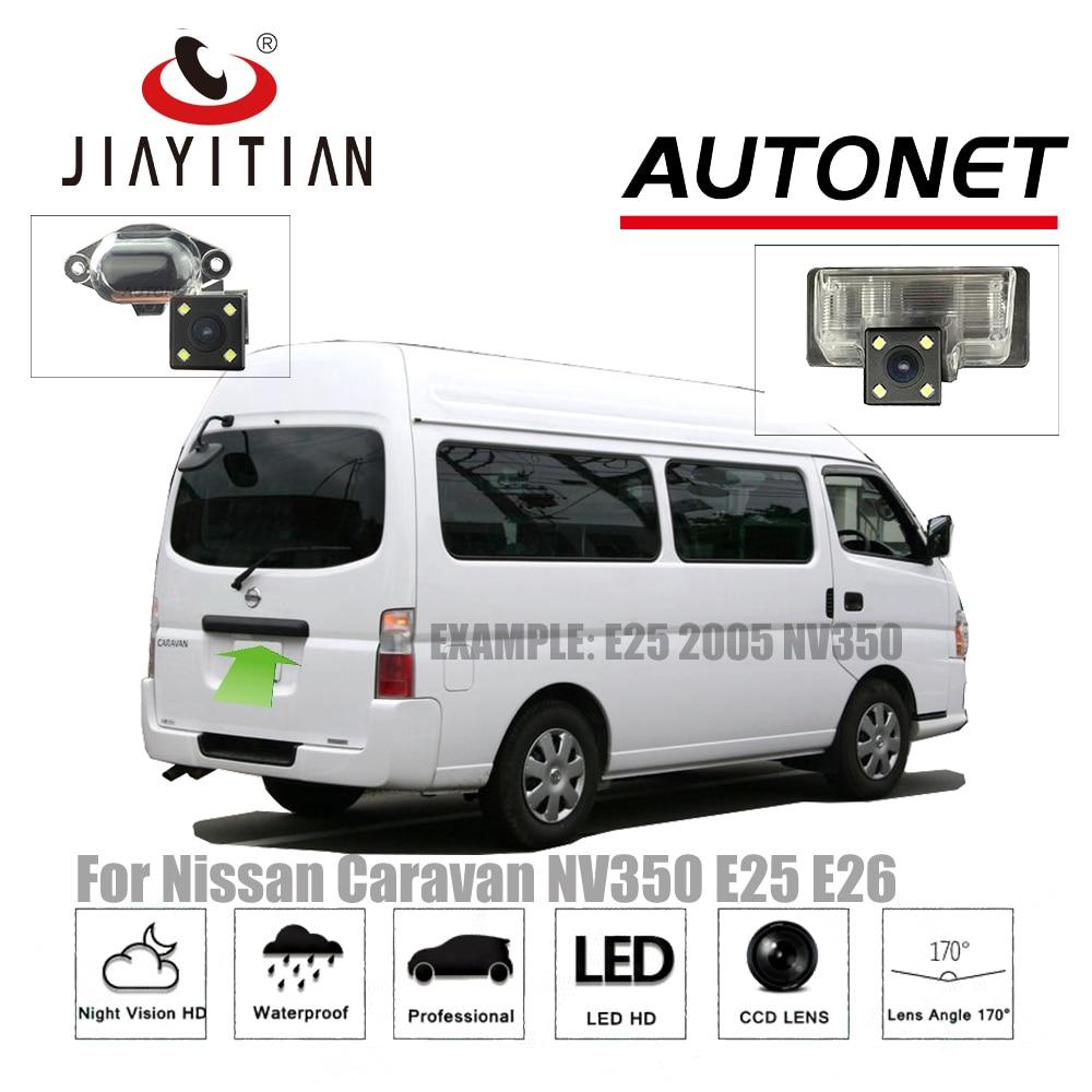 JiaYiTian Rearview Camera For Nissan Caravan NV350 Urvan Estate E25 E26 2001~2018 CCD/Night Vision backup camera Reverse camera новый силовой рулевой насос 49110 vw000 для nissan urvan e25 urvan 2 4 lts