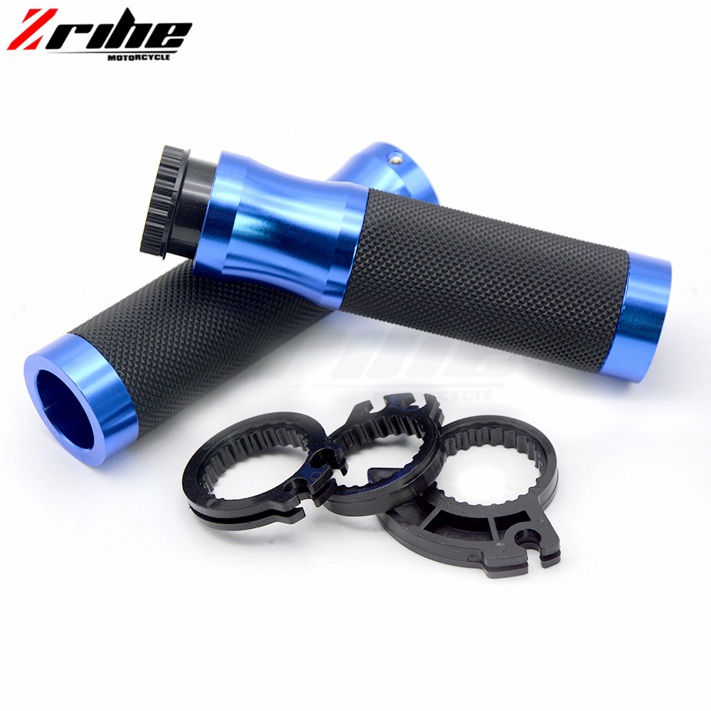 for CNC 7/8 22mm Universal Motorcycle Aluminum Handlebar Grips Dirt Bike Handle Hand Bar For Ducati 796 696 400 620 695 MONSTER 22mm 7 8 motorcycle handlebar cnc aluminum adjustable stunt clutch lever assembly for dirt bike