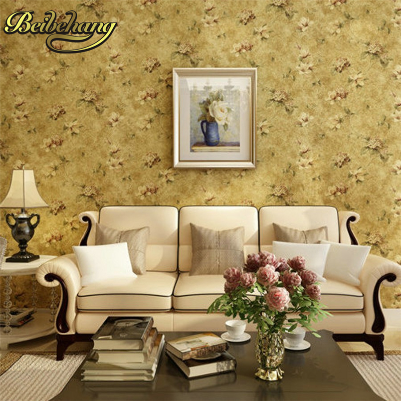 beibehang papel de parede 3D wall paper for living room bedroom County pastoral wallpaper roll wall papel parede papier peint beibehang papel de parede 3d wall murals wallpaper for walls 3d papier peint 3d living room tv backgroumd wall paper roll