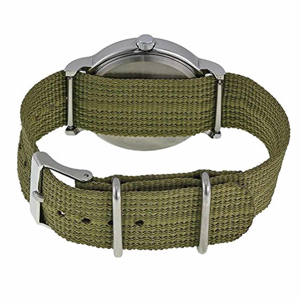 2019 Relógio de Homens de Moda de Nova Top Esporte Militar Marca de Luxo Retro Design de Alta Qualidade nylon Relogio masculino Reloj Hombre
