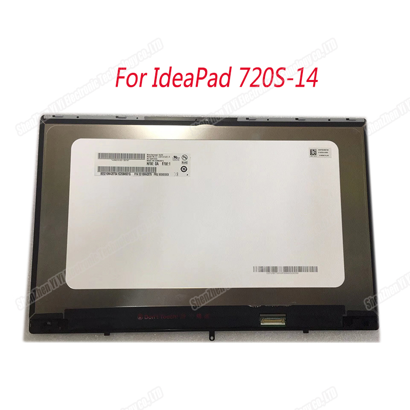 14 inch laptop display <font><b>B140HAN03.5</b></font> LCD screen assembly 1920X1080 For IdeaPad 720S-14IKB 720S-14 720 14 image