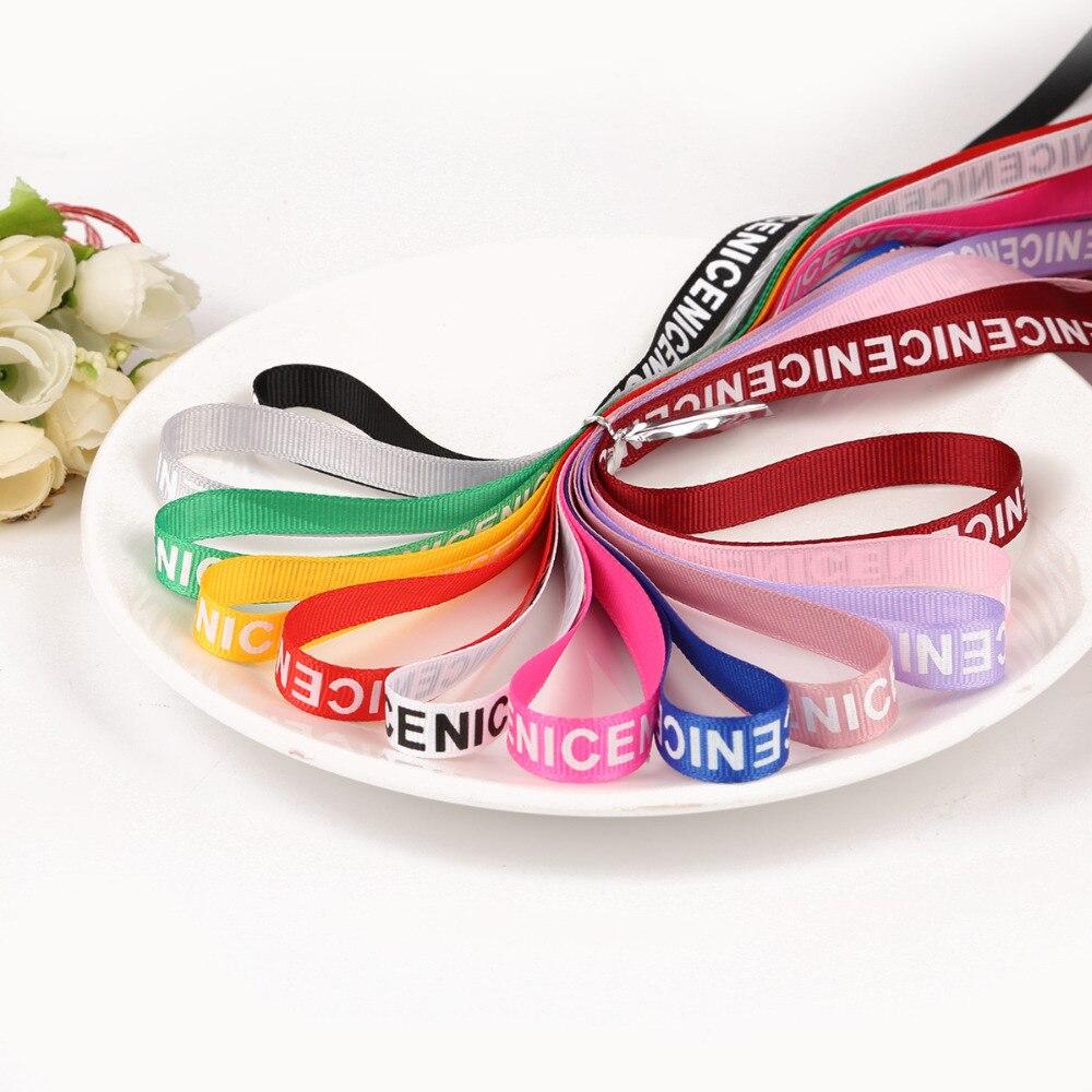 "Gift Packaging Belt Printed /""Sweetlove/"" Design Ribbon Tapes 10Yard 25mm 1/"""