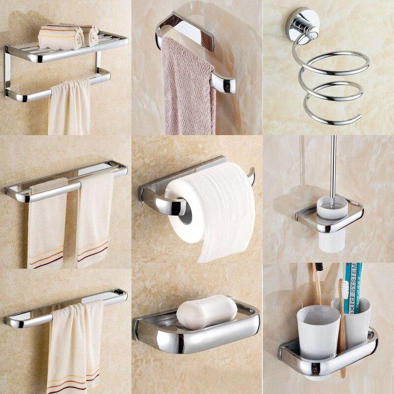 Elegant Towel Ring for Bathroom 22 cm Wall Mounted Lavatory Corner Antique Br...