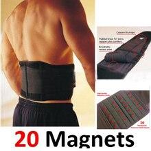 20pcs Magnets Lower Back Support Belt Men Women Medical