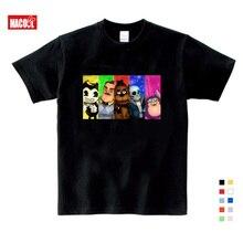 цена на 2019 Boys and Girls Game Hello Neighbor Pattern T Shirt Kids Casual Funny T-shirts Baby Summer Short Sleeve 3T-9T T-shirt