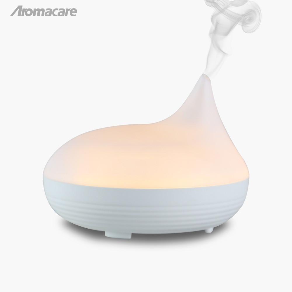 Aromacare USB Aroma Essential Oil Diffuser Ուլտրաձայնային Սառը մառախուղ խոնավեցնող օդի մաքրող միջոց LED գիշերային լույս գրասենյակային տան համար