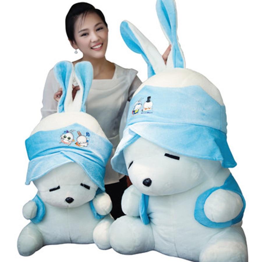 MashiMaro чучело кролик, игрушки pluche stuffe speelgoed подарок на день рождения для детей Симпатичный плюшевый кролик игрушка для ребенка 70C0363
