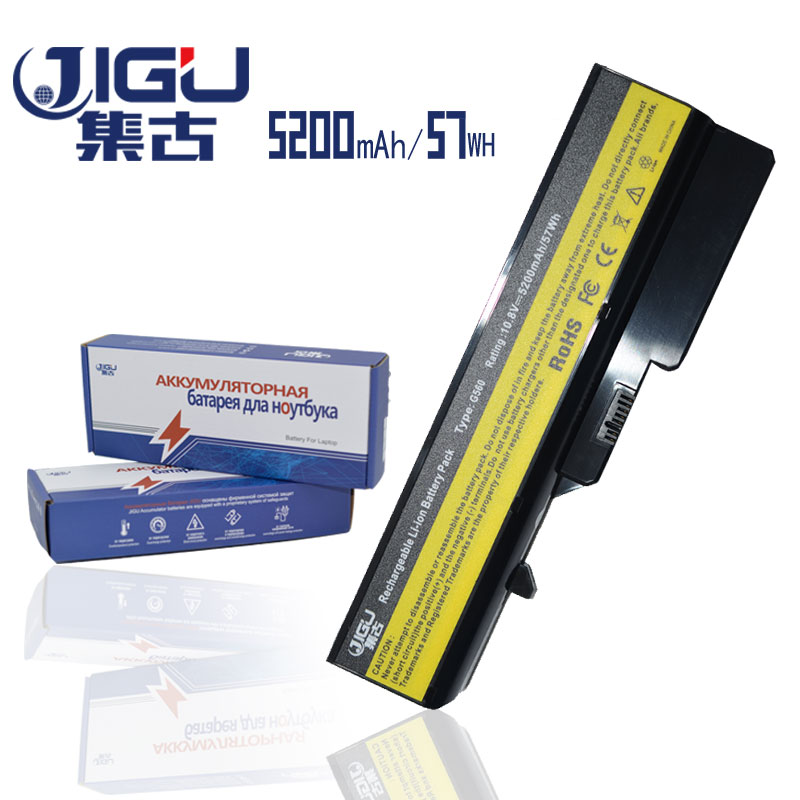 JIGU 5200mAH 6Cells Laptop Battery For Lenovo IdeaPad B470 V470 V300 V370 Z370 Z460 Z470 Z560 Z570 G460 G470 G560 G570 G770 G780 laptop battery for lenovo g560 g565 g570 g575 g770 g470 v360 v370 v470 v570 z370 z460 z465 z470 z475 z560 z565 z570