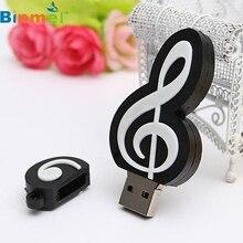 Ecosin2 32 ГБ USB 2.0 1.1 кожа флэш-диск Memory Stick хранения большого пальца руки u-диск Примечание в форме романа подарок 17mar24