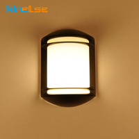 Outdoor Wall Lamp Waterproof IP65 Wall Sconce AC90 260V Courtyard E27 Villa Balcony 12W Indoor LED Wall Light Garden Porch Light