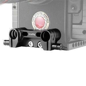 Image 5 - SmallRig クイックリリースのデュアル 15 ミリメートルロッド一眼レフカメラケージ 15 ミリメートル LWS ロッドクランプシステム 1943