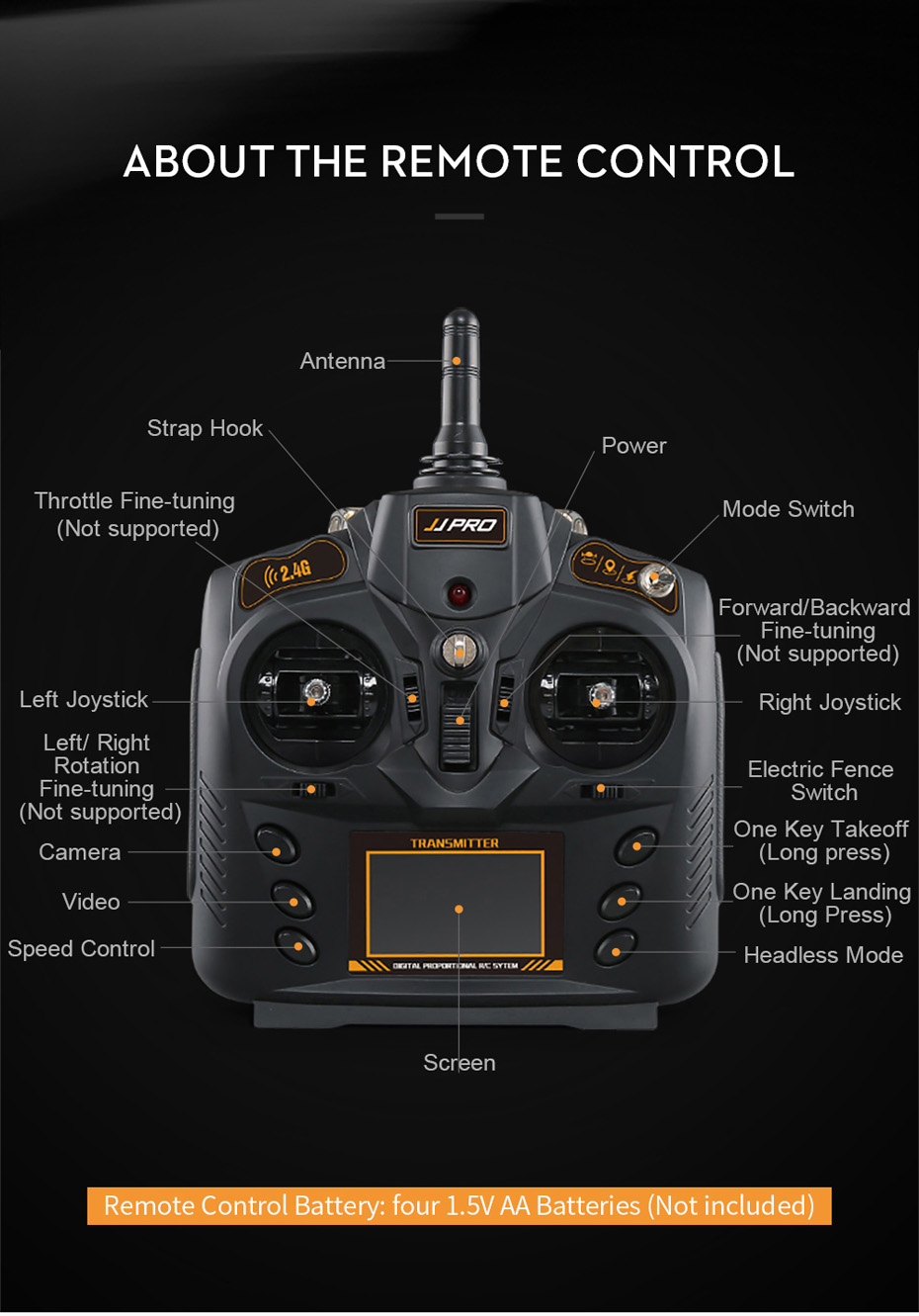 JJRC JJPRO X3 GPS Drone with Camera 1080P RC Quadcopter Profissional Brushless Motor 00mAh Battery GPS Positioning 18