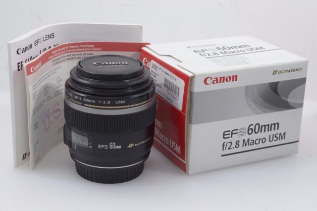 Us 440 0 New Canon Ef S 60mm F 2 8 Macro Usm Lens In Camera Lens From Consumer Electronics On Aliexpress 11 11 Double 11 Singles Day