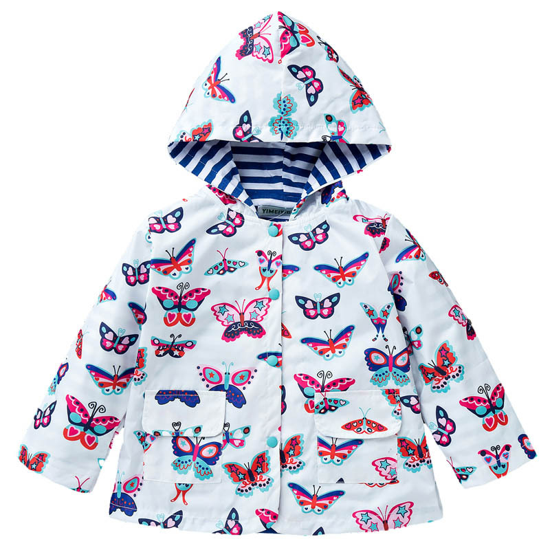Girls Boys Jacket Water Repellent Wear Resistant Lovely