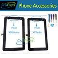 1 Шт./лот Высококачественной Для Samsung Galaxy Tab 2 7.0 P3100 P3110 Дигитайзер сенсорным Экраном Сенсорной Панели Белого и Черного Цвета С инструменты
