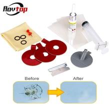Rovtop автомобильный комплект для ремонта лобового стекла, набор ремонтных инструментов, УФ-светильник, DIY автомобильный набор стекла для чип трещины Z2
