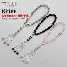 Beads Bracelet Muslim Jewelry Top-Sale Tasbih Religious Prayer Rope-Chain Charm Crystal