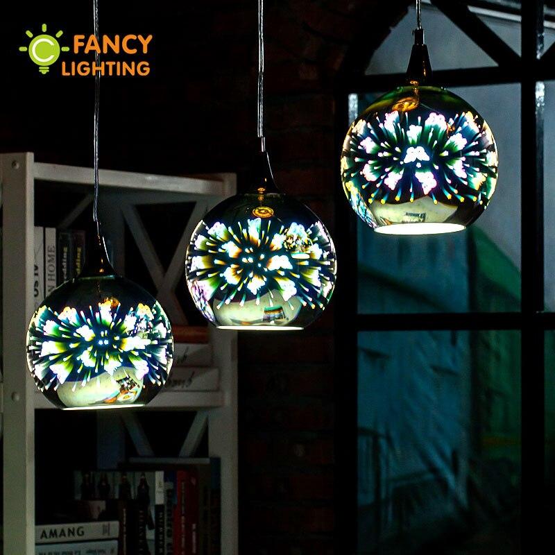Pendant light 3D Butterfly Glass Hanging lamp With Free Bulb fixture home bar restaurant cafe decor adjustable pendant lamp cord ручной пылесос handstick dyson v6 cord free extra sv03 350вт желтый
