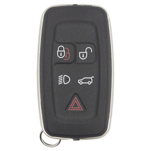 цена на WhatsKey New 5 Button Remote Car Key Shell For Land Rover Discovery 4 Sport Freelander Evoque For Range Rover2010-2012 Fob Case