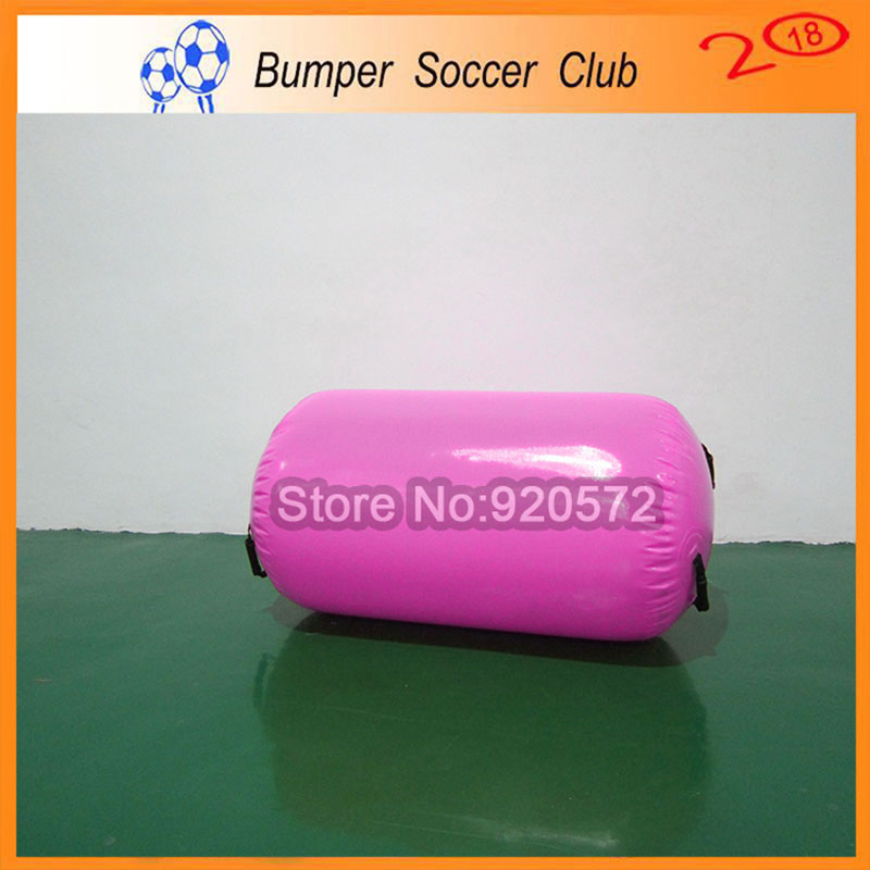 Free Shipping 100x60cm Hand Made Pink Inflatable Barrels Air Roller For Body Exercise For Home EditionFree Shipping 100x60cm Hand Made Pink Inflatable Barrels Air Roller For Body Exercise For Home Edition
