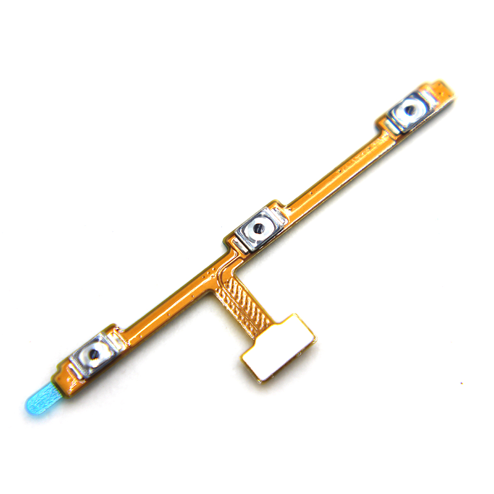 Original New Power Volume Button Flex Cable For Meizu M2 Note Power On Off Volume Up Down Replacement Parts