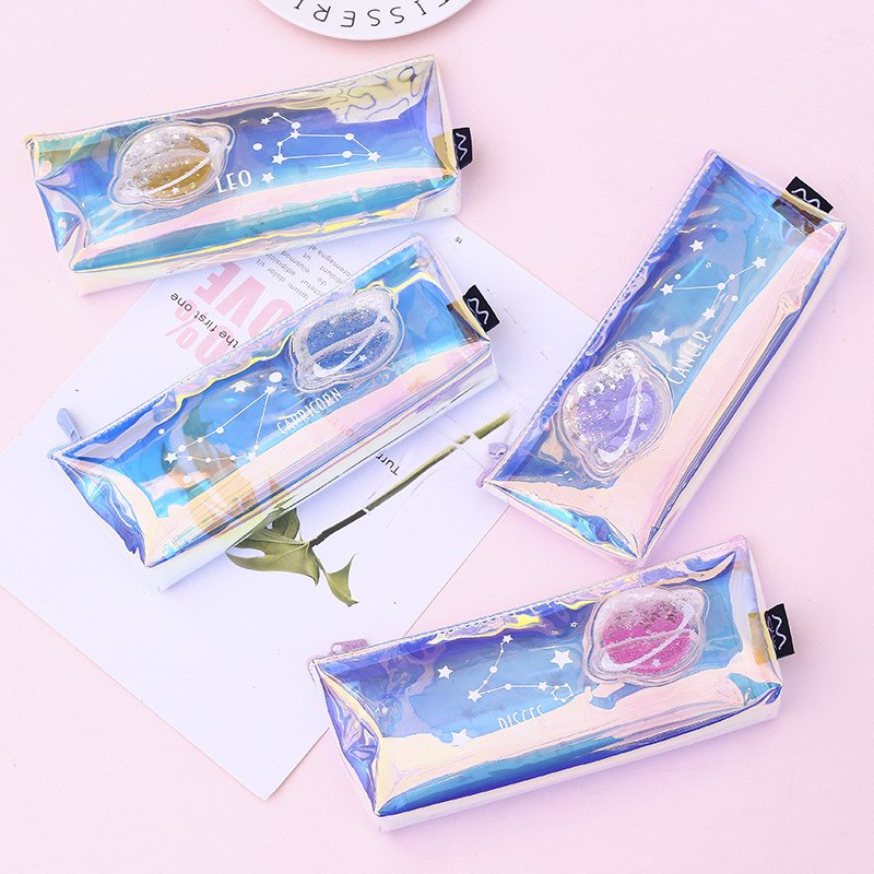 1 Pcs Kawaii Pencil Case Unrestrained Gift Estuches School Pencil Box Pencilcase Pencil Bag School Supplies Stationery
