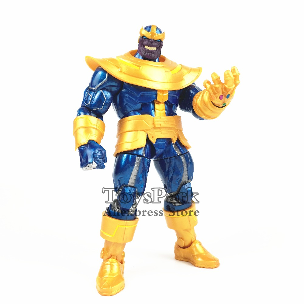 Marvel Legends 6 THANOS Action Figure Comic From 2018 Walmart Exclusive Collectible Loose No Retail Box tourbillon auto mechanical mens watches top brand luxury wrist watch automatic clock men stainless steel skeleton reloj hombre