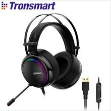 Tronsmart Glary Gaming Headset ps4 headset Virtual 7.1,USB Interface Headphones for ps4,nintendo switch,Computer,Laptop