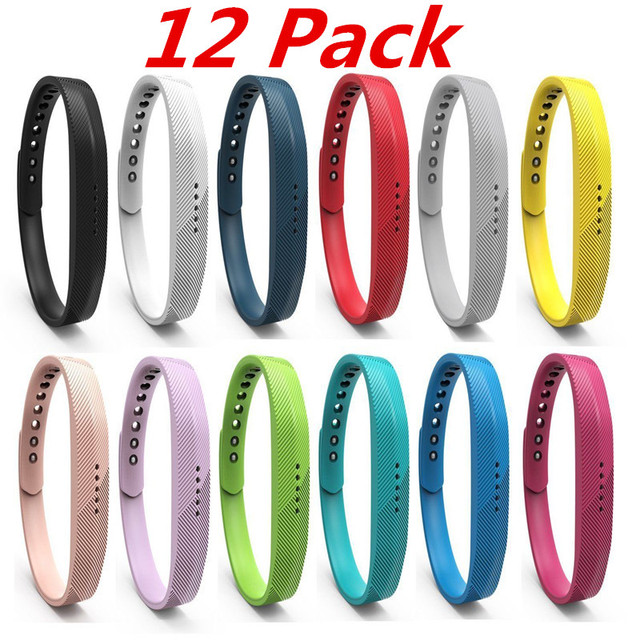 US $19 99  Aliexpress com : Buy (12 Pack) For Fitbit Flex 2 Smart Watch  Band Bracelet Soft Sport Silicone Wrist Strap For Fitbit Flex 2 Replacement