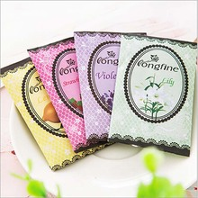 10 pcs /pack Aromatherapy Natural Smell Incense Wardrobe Sachet Air Fresh Refreshing Scent Bag Perfume Vanilla Lavender