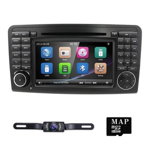 Image 2 - 2Din Car DVD Player For Mercedes Benz ML Class W164 GL350 X164 ML320 GPS Navigation Radio Stereo BT DAB+ DTV SWC CAM MAP SD TPMS