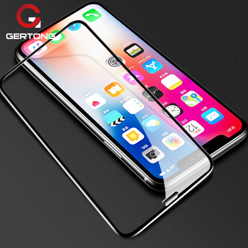 For iPhone XS Max Tempered Glass Screen Protector For