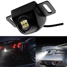 Lonleap Universal Car Tail Lights Auxiliary Reversing Back LED lights Rearing Warning Light 3LEDs Styling 1 Piece