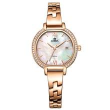 2017 CASIMA reloj de la marca de lujo de Pulsera relojes mujeres de Moda casual de las señoras de cuarzo reloj de pulsera de las mujeres a prueba de agua relojes mujer 2614