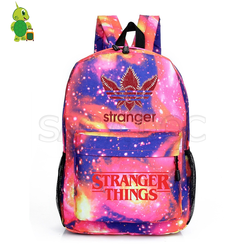 2019 Stranger Things Backpack Boys Girls Teens School bag Leisure Travel Bag